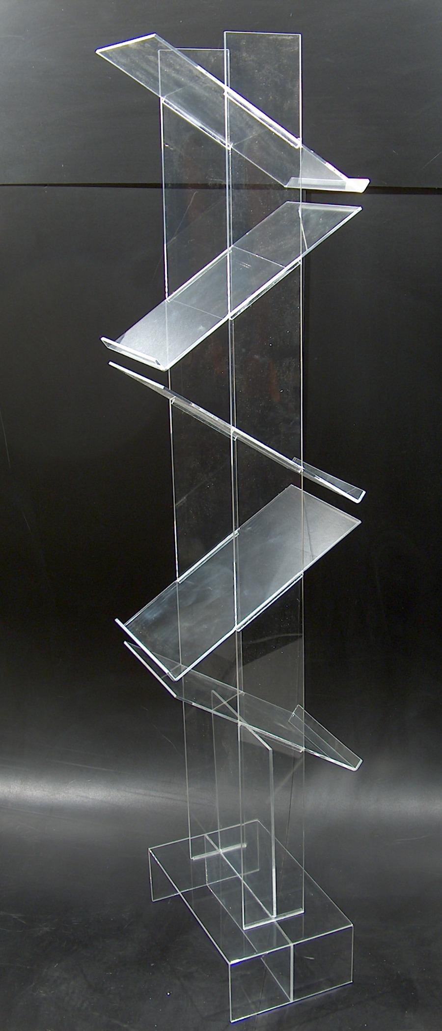 Display em acrílico cristal