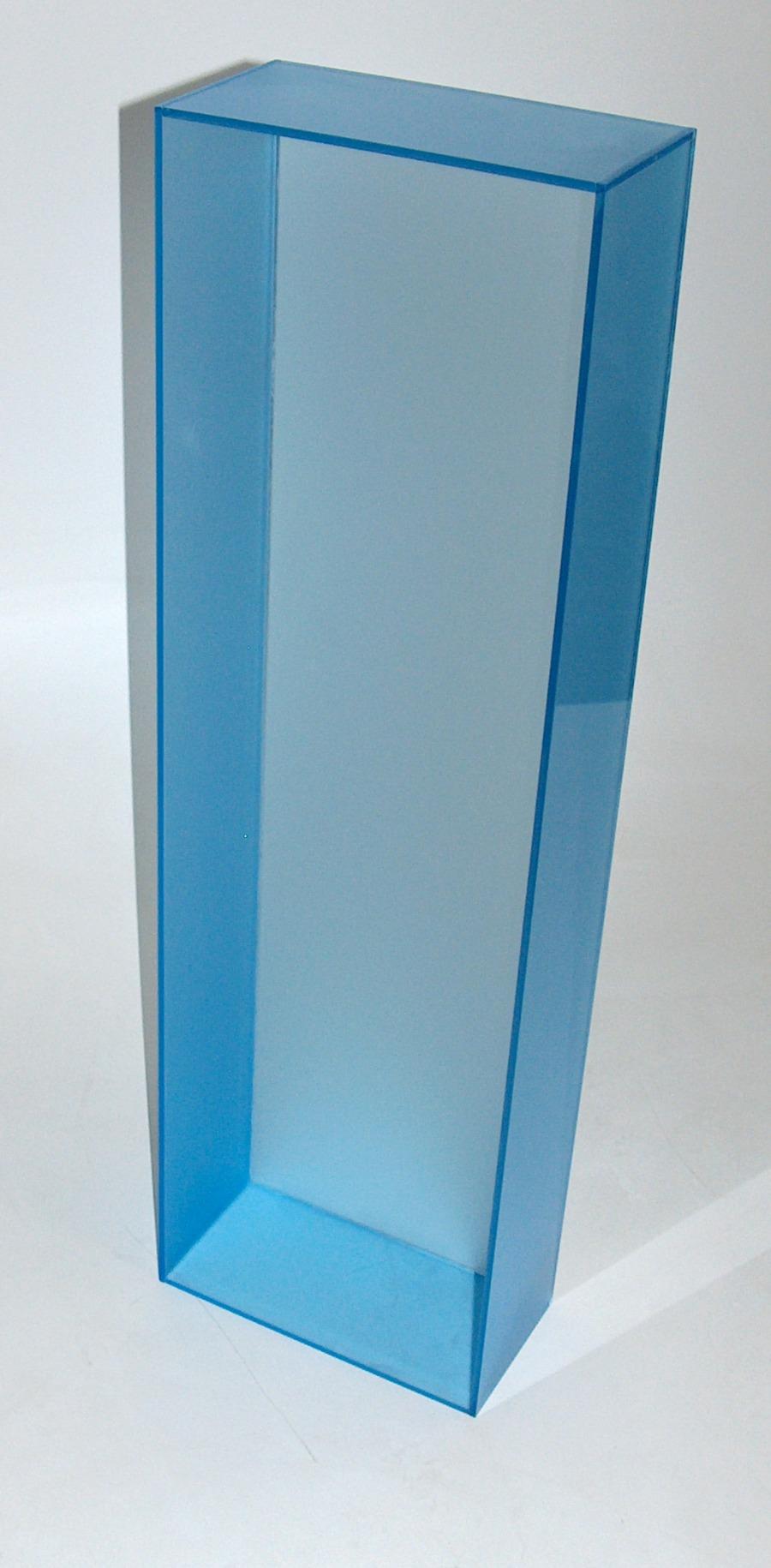 Caixa em Acrílico Azul