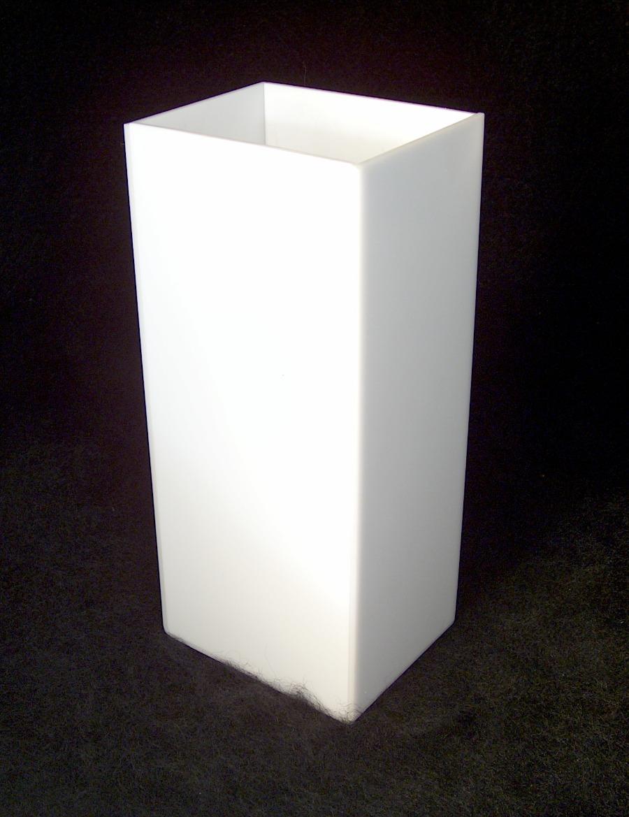 Caixa em Acrílico Branco